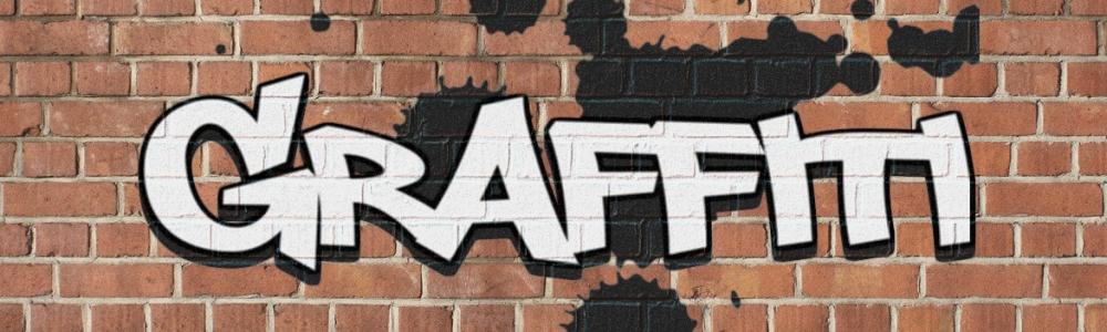 Graffiti banner image